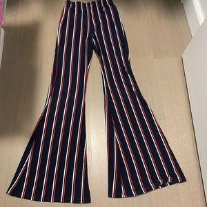 Striped Cotten pants